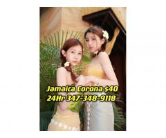 Queens Asian Escort Incall $99 FullServe or $40 Nuru〓💜〓【💜】〓💜〓Corona Incall + Jamaica Incall 347-348-9118 〓💜〓【💜】〓💜〓2Girl Do WhatEver U Want Woodhaven Japanese Table Shower